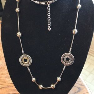 Brighton Necklace. Wear doubled or long! W/Bonus!
